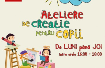 McDonald's Veranda iti aduce ateliere de creatie pentru copii!