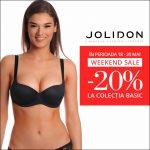 Weekend Sale: -20% la colecţia Jolidon Basic