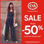C&A Veranda Mall a dat startul reducerilor de vara!