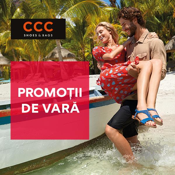 Promotii de vara la CCC!