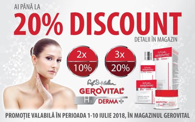 Reduceri Gerovital H3 Derma