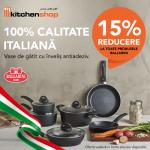 Reducere la toate produsele BALLATINI doar la Kitchen Shop