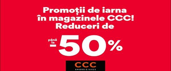 Promotii de iarna in magazinele CCC
