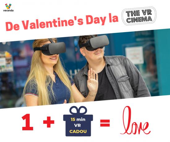 De Valentine's Day, primesti inca 15 minute CADOU la VR Cinema!