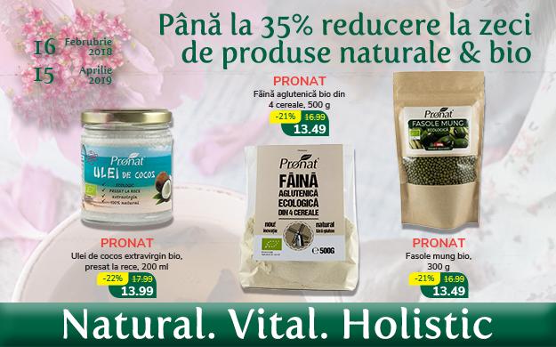 Reduceri de pana la 35% la Floare de colt!