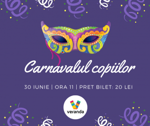 Carnavalul copiilor - Atelier de confectionat masti