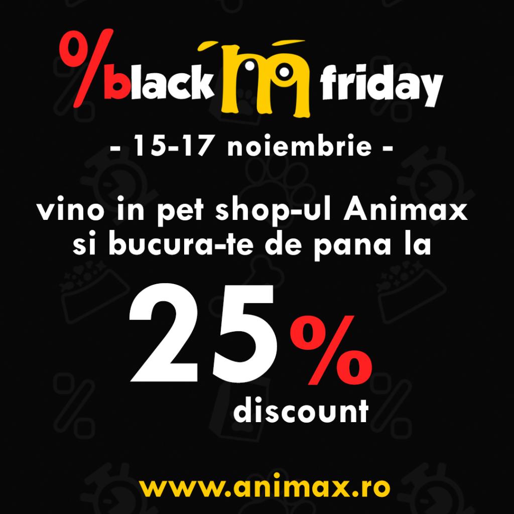 reduceri produse pentru animale black friday