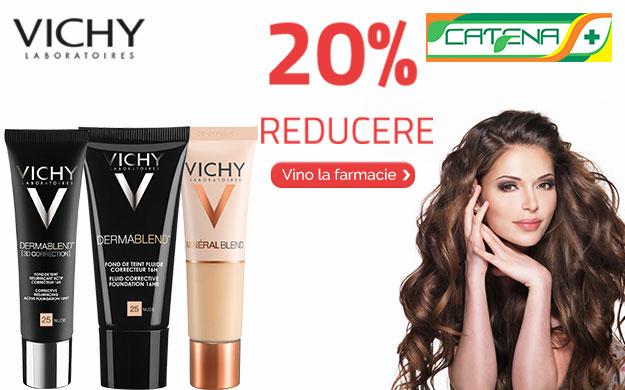 VICHY – 20% REDUCERE in farmacia CATENA