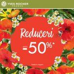 Reduceri de pana la 50% la Yves Rocher