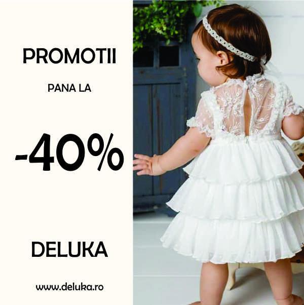 Reduceri de pana la -40% la Deluka